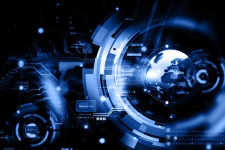 Wereldwijd netwerk verbinding Stockfoto