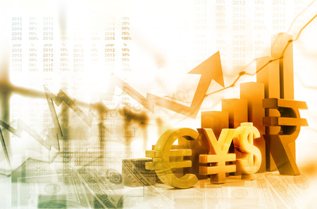 financial growth: Financial growth graph