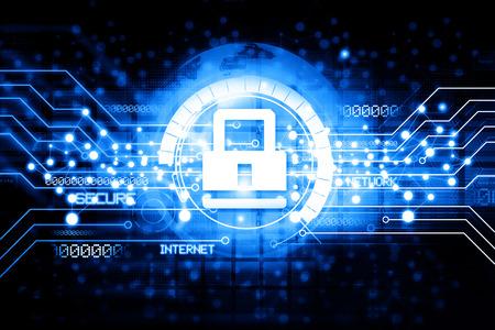 Digitale beveiliging Internet