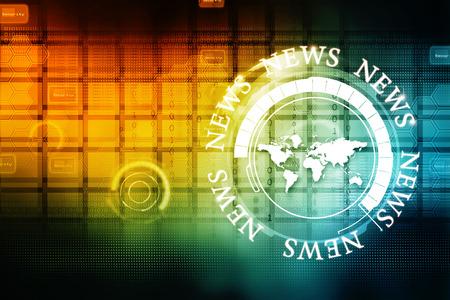 multimedia background: Technology background Stock Photo