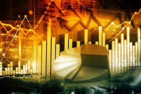 stock market charts: Economical stock market graph