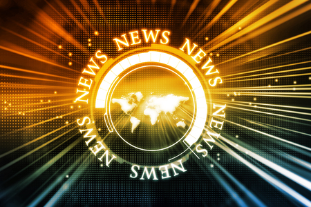 news background: Digital news background Stock Photo