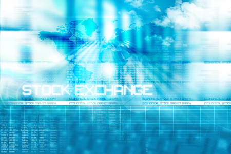 stock: Stock market  background