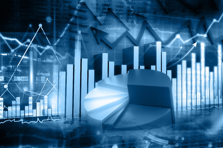 Económica gráfico de la bolsa