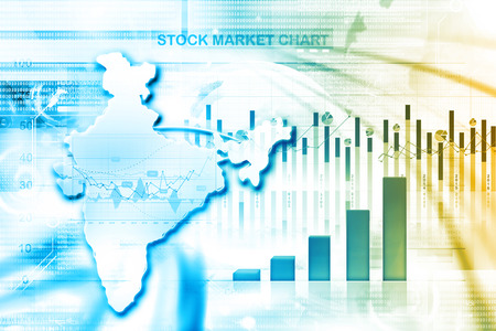 stock listing: business growth of Indian economy