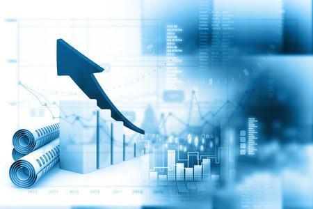 economic forecast: Economical stock market graph