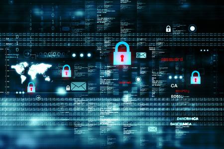 デジタル インター ネット セキュリティ