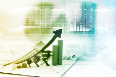 financial growth: Financial growth chart
