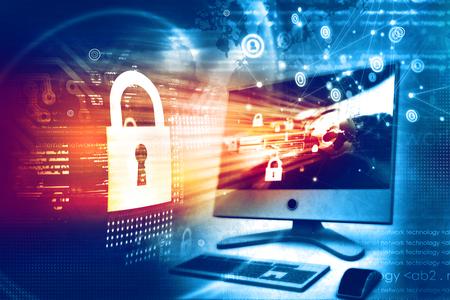 디지털 보안 개념 스톡 콘텐츠
