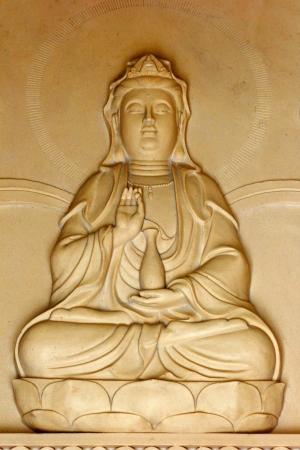 A Buddism godness Guan yin statue Stock Photo - 17073579