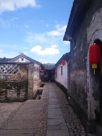 dwellings: Chinese ancient dwellings Stock Photo