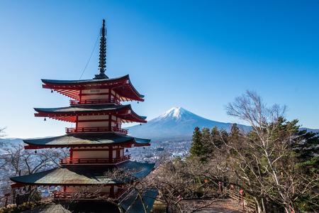 chureito: Chureito pagoda - Japan