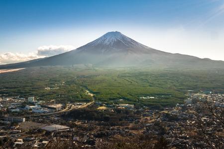 ropeway: Mt.Fuji from Kachi Kachi Ropeway - Japan