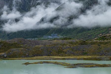Landscape around Mt.CookAoraki national park, New Zealand