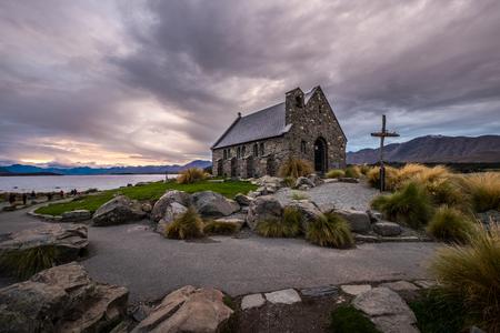 Church of the Good Shepherd, New Zealand The Church of the Good Shepherd is situated on the shores of Lake Tekapo.