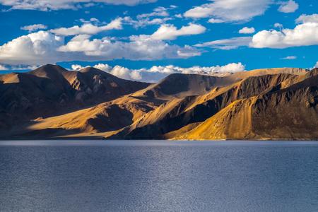 Landscape around Pangong Lake in Ladakh, India