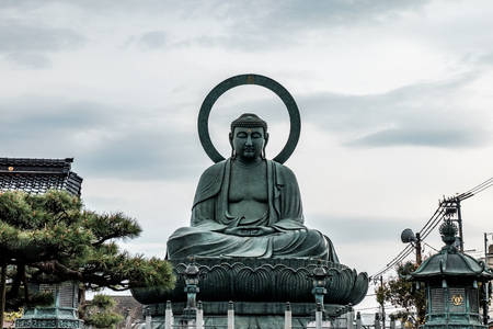Takaokas emblematic Great Buddha is one of the three Great Buddha statues of Japan.