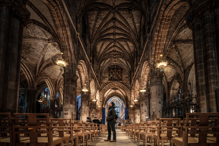 St Giles Cathedral also known as the High Kirk of Edinburgh, is the Church of Scotland in Edinburgh, United kingdom.