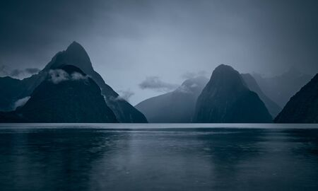 The Landscape of Milford Sound, New Zealand