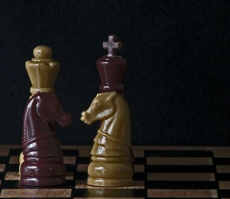 chess pieces Imagens