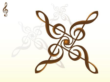g key abstract - illustration