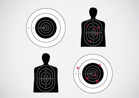 unused and set the targets - illustration Stock Vector - 11495966