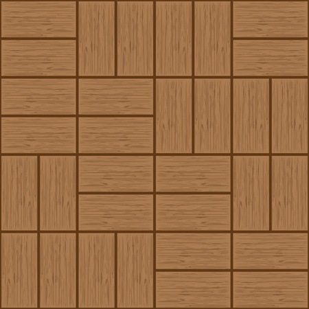floorboards, seamless  wooden texture tiles - illustration Vector