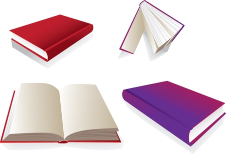 green book: Books from several perspective - illustration