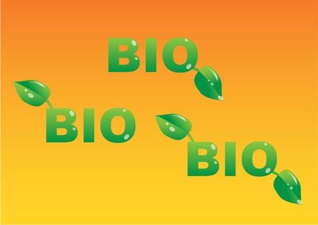 bio logo Stock Vector - 11496612