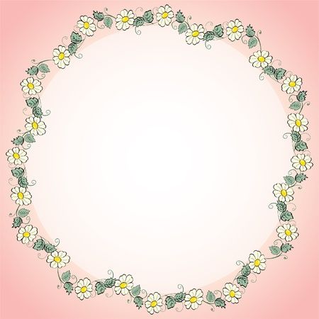 eps10 flowers il line strip - illustration Vector