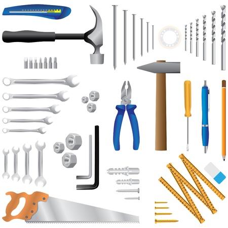 dyi tool - realistic illustration Vector