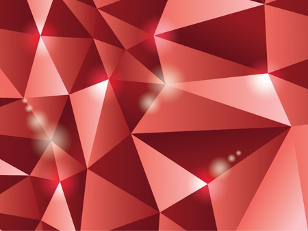 3d polygon triangle abstract background - illustration Stock Vector - 12450092
