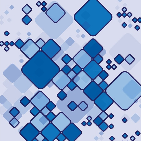 abstract rectangles background - illustration Vector
