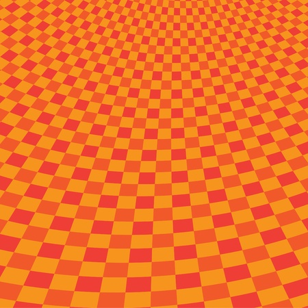 red picnic cloth illustration Vector