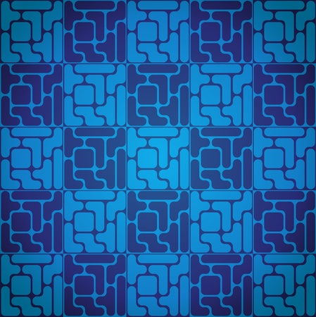 tetris:  Seamless pattern like tetris game - illustration Illustration