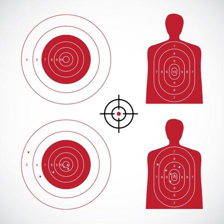 unused: unused and set the targets - illustration Illustration