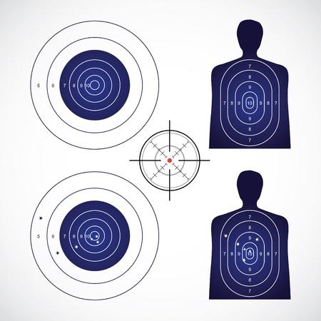 unused and set the targets - illustration Illustration