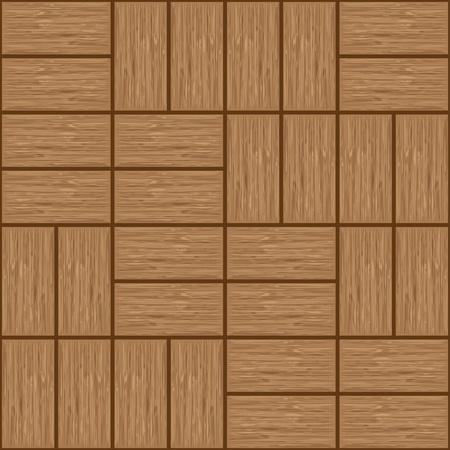 floorboards: floorboards, seamless  wooden texture tiles - illustration Illustration