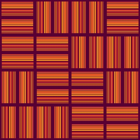 floorboards, seamless red texture tiles - illustration Vector