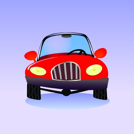 eps10 cartoon car - illustration Vector