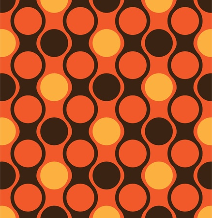 abstract seamles pattern of circles - illustration Stock Vector - 12453369