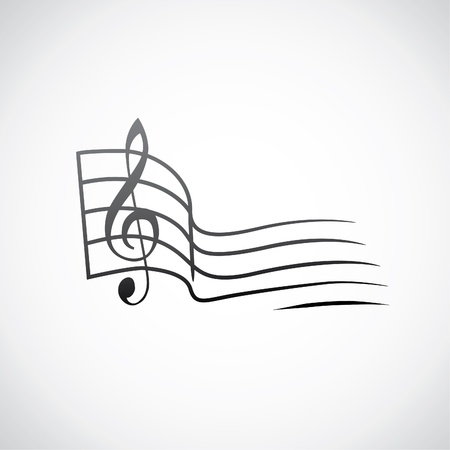 g key and empty one tact logo - illustration