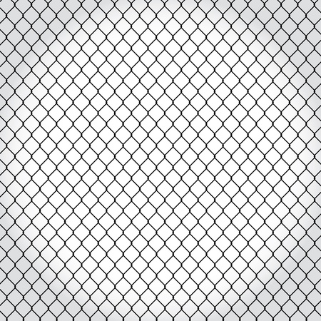 wired fence - illustartion Stock Vector - 17181537