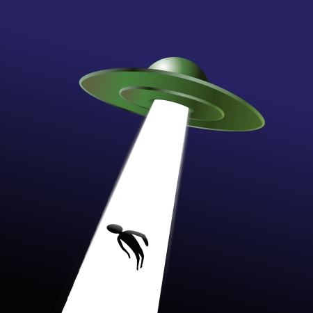 kidnapping with Ufo Vector