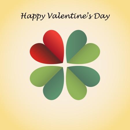Valentine s card Stock Vector - 17745034