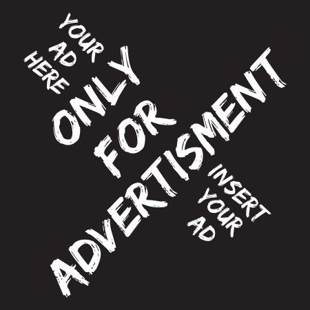 message board: Only for ad, your ad here Illustration