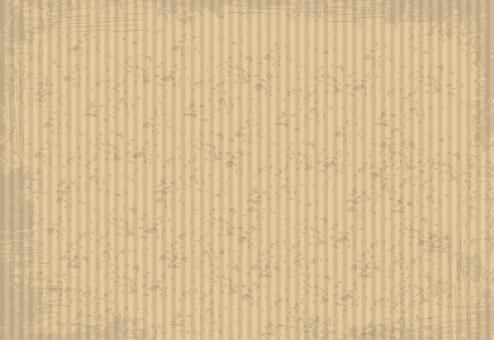 Blank cardboard paper with copyspace - illustration