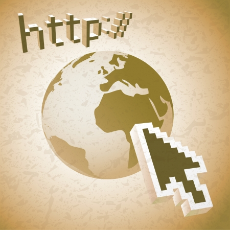 http: http earth web search engine - illustration