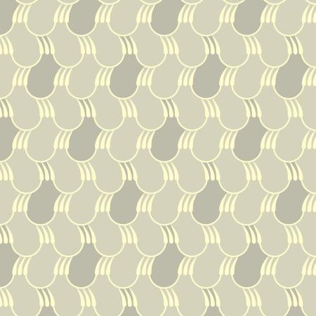 Abstract drops pattern, light - illustration Vector