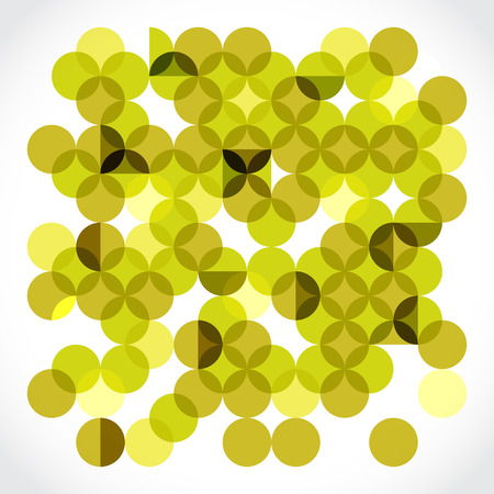 Transparent circles pattern illustration Vector